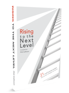 Rising to the Next Level: a new book for small business owners that I contributed to.
