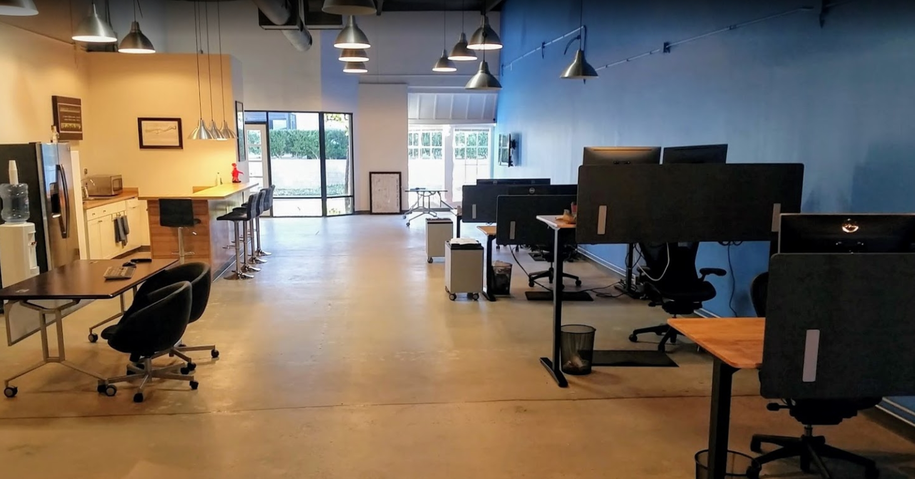 Open Interactive Office looking North