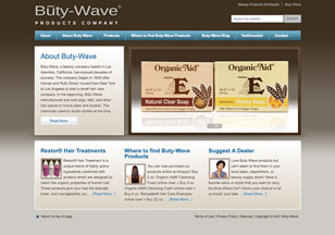 ButyWave.com Website Design