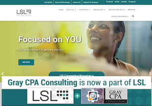 LSLCPAs.com Website Design