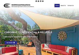 SmithCoastValuations.com Website Design